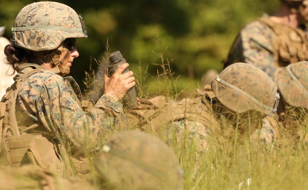 A second woman has graduated from the Marine Corps grueling Infantry Officers Course