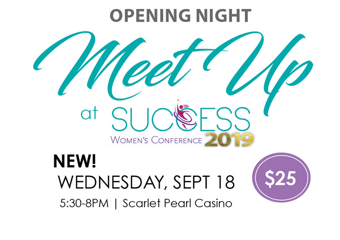 Meetup at Success Women's Conference 2019